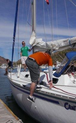 lili docking 2