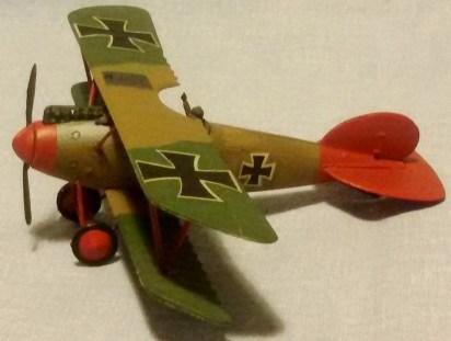 Albatros D.V, Manfred von Richthofen 1917