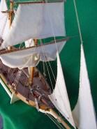 Dettaglio delle vele di straglio - Details of the jibs