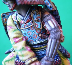 Samurai, dettaglio della corazza anteriore - Samurai, detail of the front armour