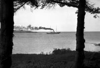 SS Hochelaga at the mouth of Charlottetown Harbour