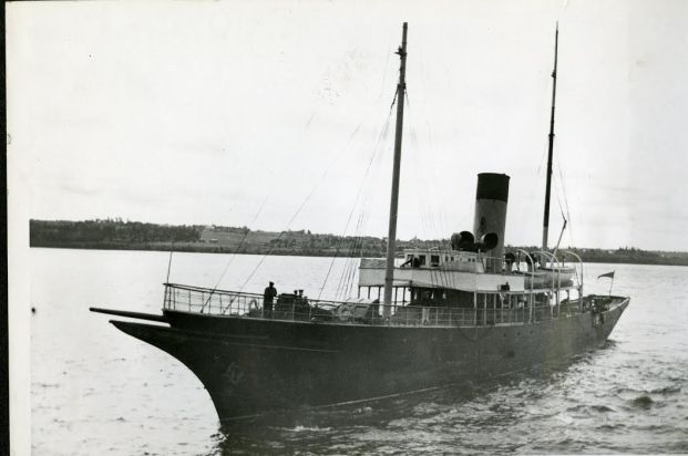SS Hochelaga in Pictou. Photo courtesy of Charles E. Frohman Collection/Hayes Presidential Center.