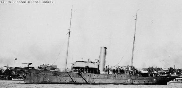 HMCS Hochelaga during wartime