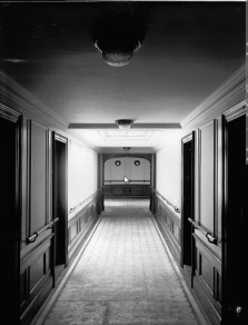Corridor leading from Dining Room. Photo: McCord Museum, Notman Collection #5526