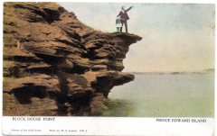 Blockhouse Point. Warwick & Rutter postcard #1817A. This is the only one of the postcards with this scene to be actually credited to Louson although the is in the picture and the photo may have been taken by someone else.