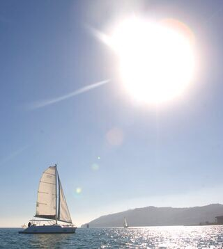 Enjoy SoCal weather aboard LOUISE on the bay - Sail The
