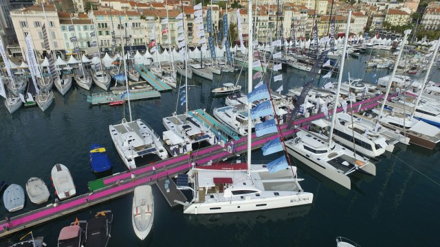 Wildling at Yachting Festival de Cannes