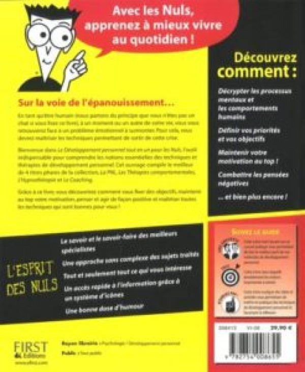 livre développement personnel