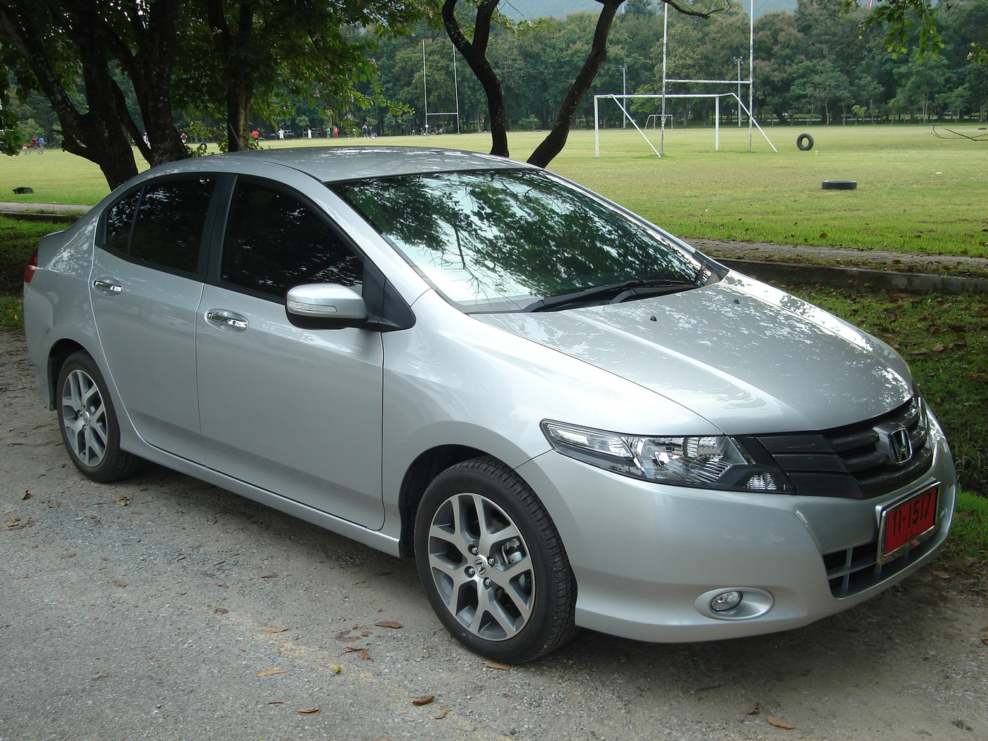 hight resolution of honda city ivtec white modified