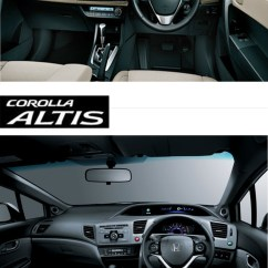 All New Corolla Altis Vs Civic Grand Veloz Olx Toyota Honda Saimies Tech Interior Comparison S