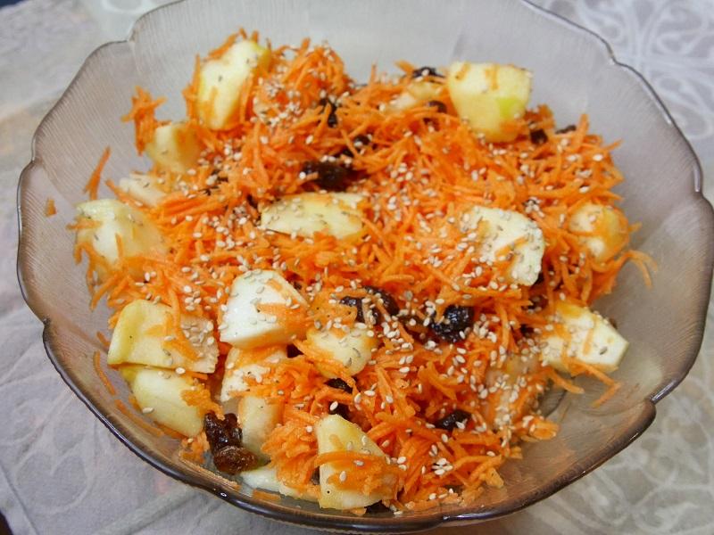 Salade de carottes râpées - Salade de carottes râpées