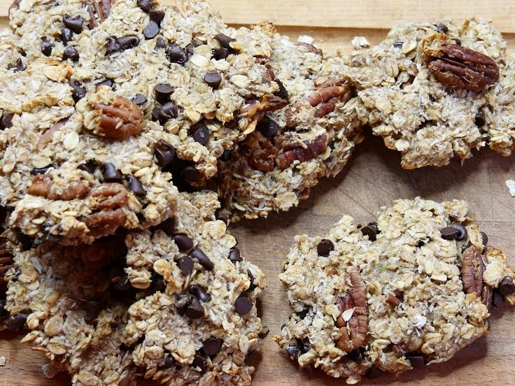 Cookie flocons davoines - Cookies aux flocons d'avoine