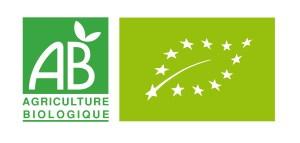 Guide du bio santé : Logo AB France et UE