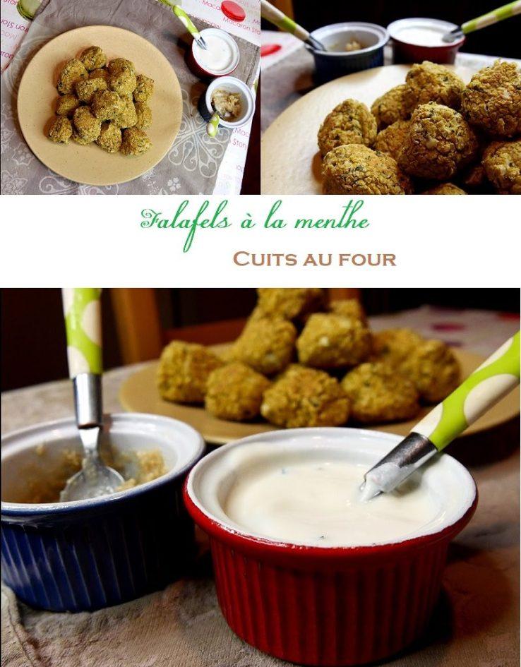 Falafels à la menthe cuits au four 4 800x1024 - Une journée dans mon assiette #1 - Veggie Edition