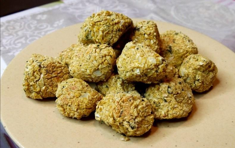 Falafels à la menthe cuits au four
