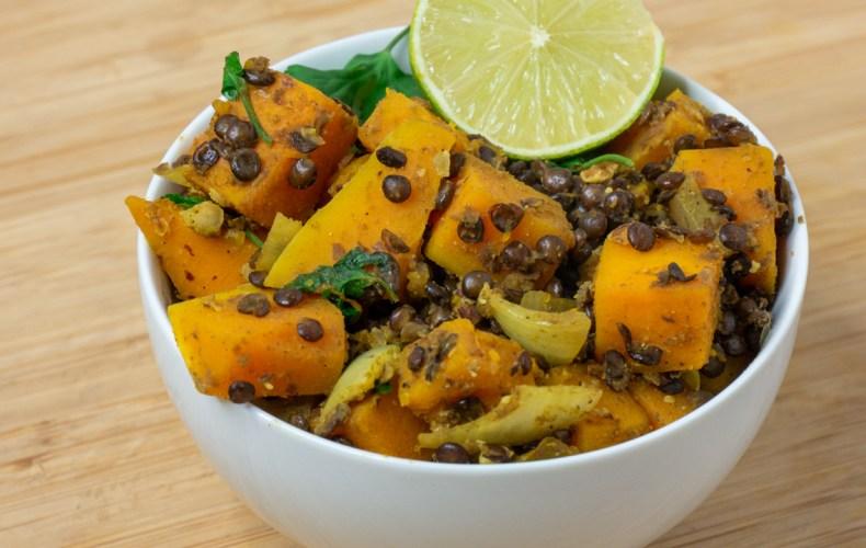 Curry de Lentilles & Butternut