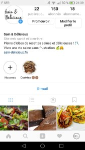 Recette des cookies sur instagram 169x300 - Coup de cœur de Février : Cookies à la farine de pois-chiches
