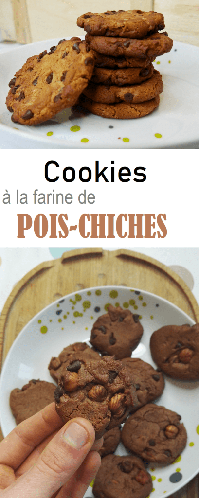 cooies farine de pois chiches pinterest 409x1024 - Coup de cœur de Février : Cookies à la farine de pois-chiches