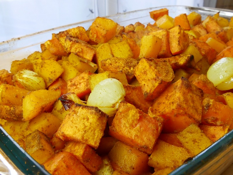 Butternut patate douce rôties - Butternut & Patate Douce Rôties