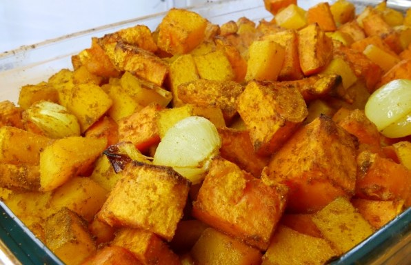 Butternut & patate douce rôties