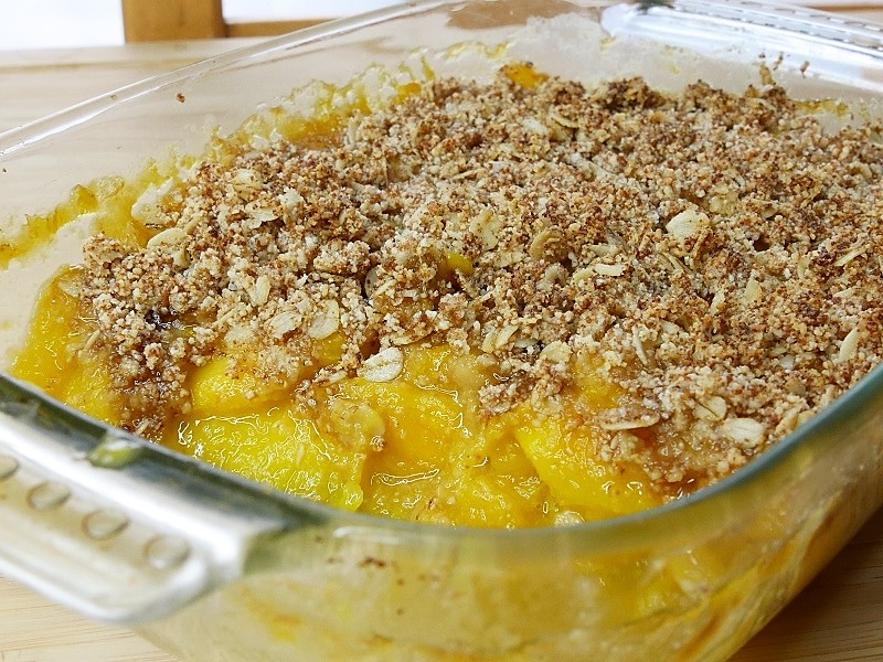 Crumble à la mangue - Crumble à la mangue