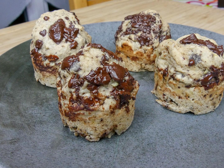 Muffins banane Incroyaux - Muffins Banane «Incroyaux» (Vegan, Sans Sucres Ajoutés)
