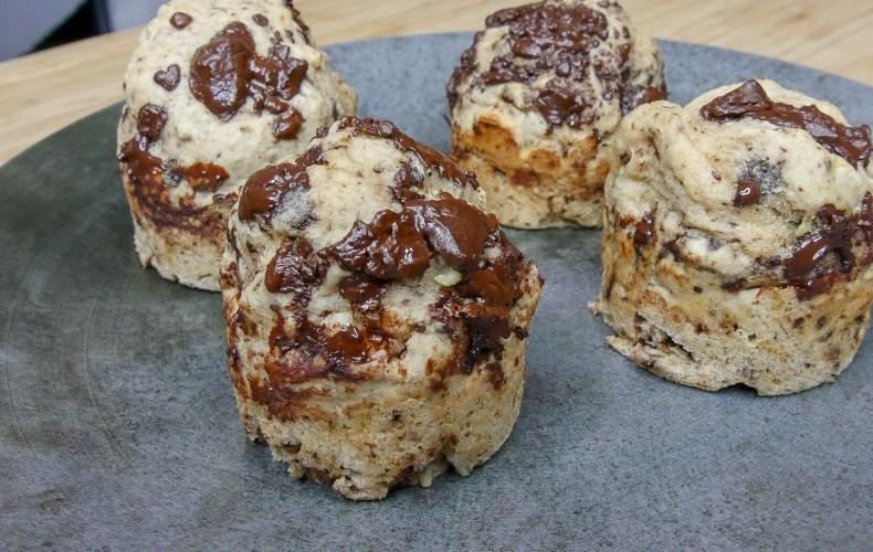 Muffins banane Incroyaux