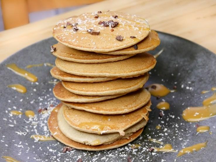 Pancakes au Sarrasin 1024x768 - 7(+3) Recettes Petits-Déjeuners Healthy (Faciles, Trop bons)