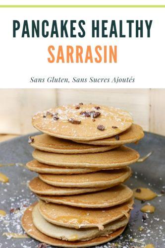 Pancakes au Sarrasin Sans Gluten Sans Sucres Ajoutés - Pancakes au Sarrasin (Sans Gluten, Sans Sucres Ajoutés)