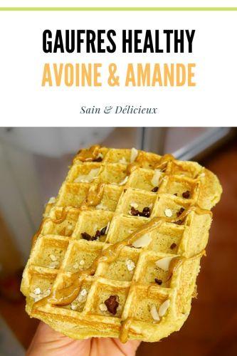 Gaufres healthy avoine amande - Gaufres Avoine & Amande (Sans Sucres Ajoutés)