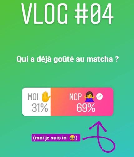 résultat sondage Qui a deja goute au matcha - INSTA VLOG 04 : Dalgona Matcha