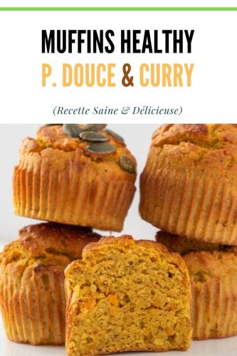 Muffins Patate Douce Curry Muffins Sales - Muffins Patate Douce & Curry (Muffins Salés)