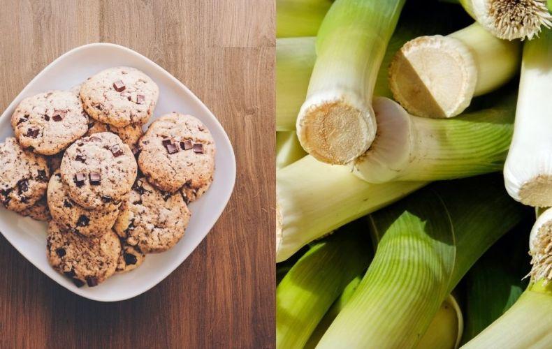 Cookies & Poireaux à la Béchamel (légers)
