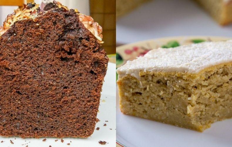 Recettes _ Cake Chocolat (à la farine de pois-chiches!) & bien plus
