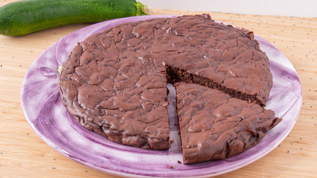 Fondant au Chocolat a la Courgette healthy - Fondant au Chocolat à la Courgette (HEALTHY)
