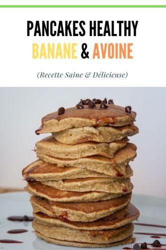 Pancakes aux Flocons dAvoine Healthy SSA 1 - Pancakes aux Flocons d'Avoine (Healthy, SSA)