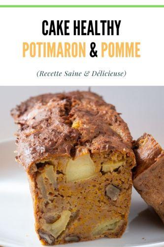 Cake Potimarron Pomme Healthy 1 - Cake Potimarron & Pomme (Healthy)