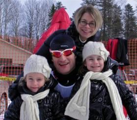 Fondateur SNØ et famille