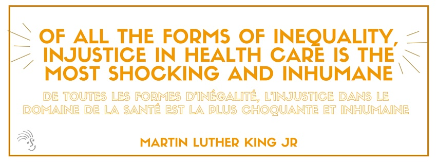 Of all the forms of inequality ... MLK