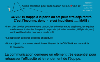 COVID-19 COMMUNICATION