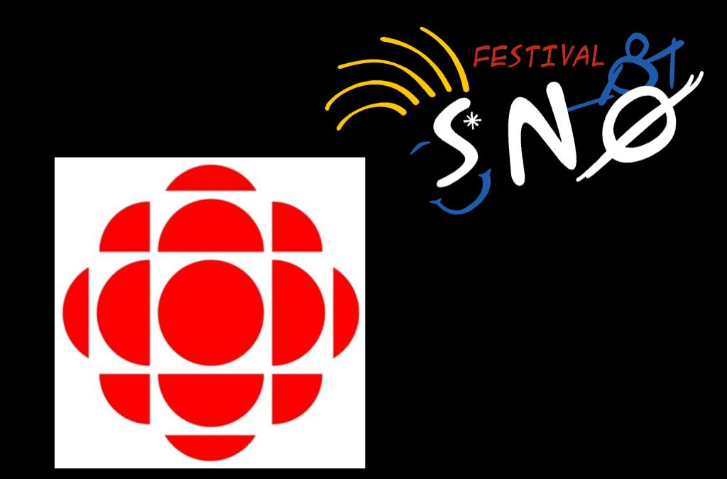 Radio Canada Parle de SNØ