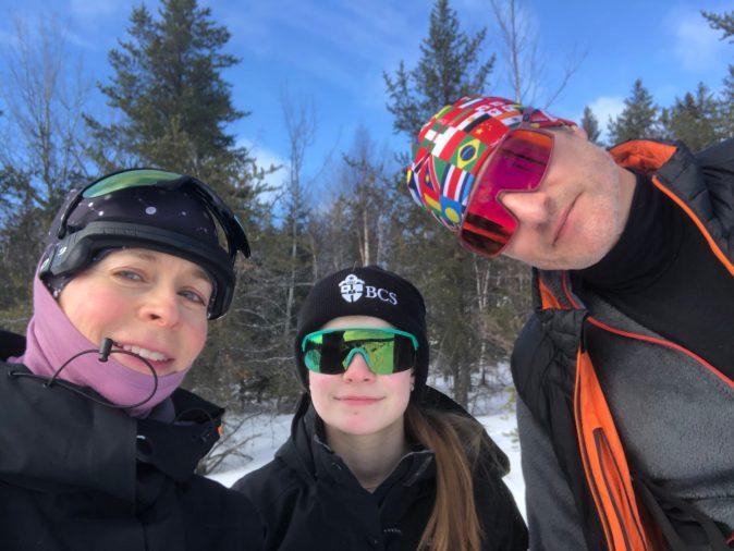 Ski hok et course en raquettes en bonne compagnie!