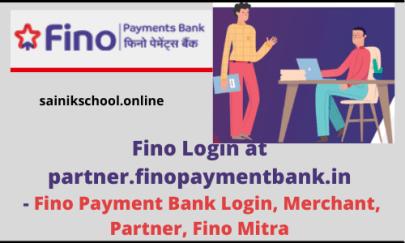 Fino Login at partner.finopaymentbank.in - Fino Payment Bank Login, Merchant, Partner, Fino Mitra