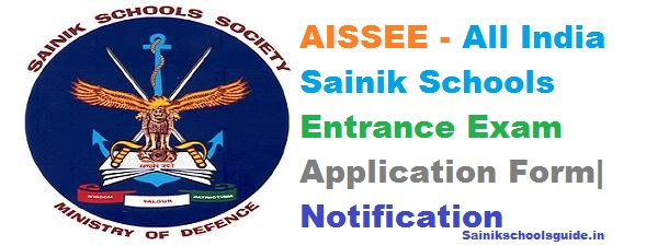 All India Sainik School Entrance Exam Application Form