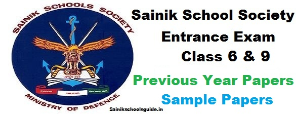 Sainik Schools Entrance Exam Previous Year Papers