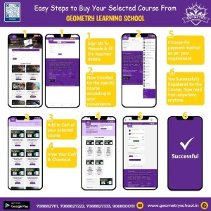 Geometry App Course Purchase Process