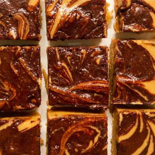 Fudge au beurre de cacahuète et chocolat vegan au micro onde