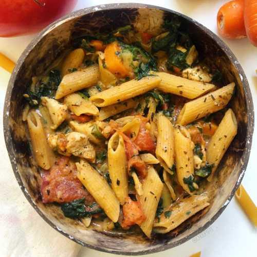 One pot pasta poulet cajun