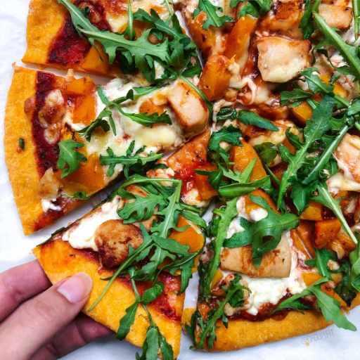 recette vegan et healthy de pâte à pizza à la patate douce maison sans matière grasse ajoutée