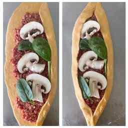 comment plier un pide turc ou pizza turque